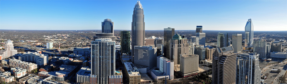 Charlotte-skyline-from-The-Vue-condos-by-Willamor