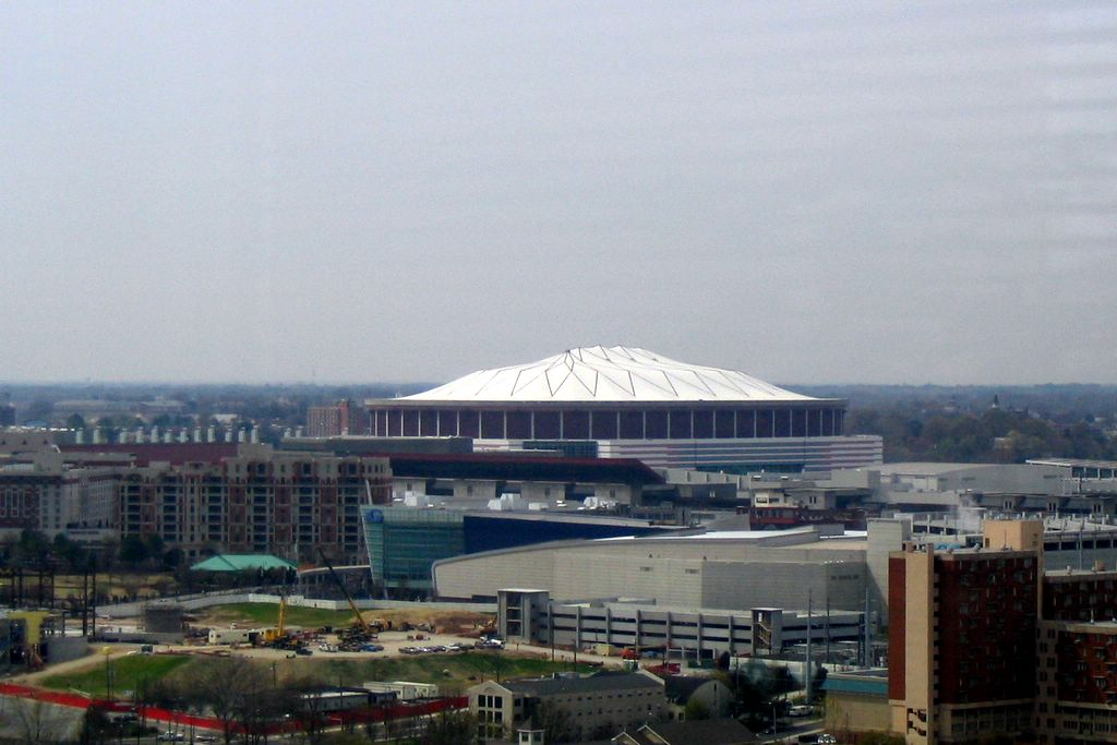 Georgia Dome - Atlanta by Lee Edwin Coursey, on Flickr