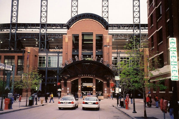 Coors Field, Home of the Colorado Rockies for a Game Between the Colorado Rockies by Ken Lund, on Flickr