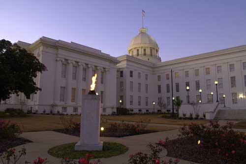 Alabama State Capitol - Montgomery, Alabama by StuSeeger , on Flickr
