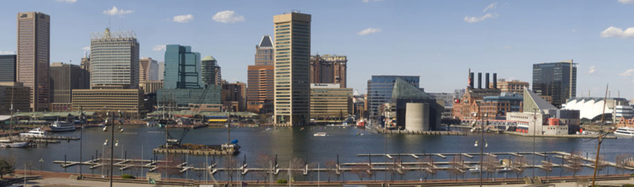 Baltimore Skyline by sneakerdog, on Flickr