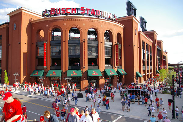 Busch Stadium by Mitch Bennett, on Flickr