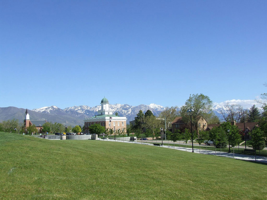 Council Hall and White Chapel in Salt Lake City by pandrcutts, on Flickr