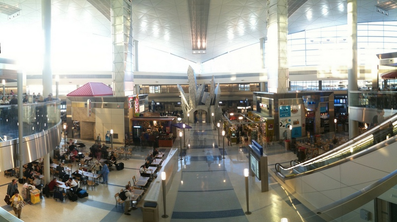 Dallas Airport - killing time between flights by Ines Hegedus-Garcia, on Flickr