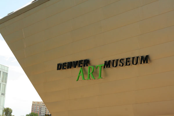 Denver Art Museum by Jinx!, on Flickr