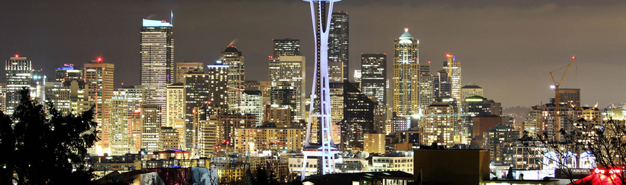 Downtown Seattle by Tiffany Von Arnim, on Flickr