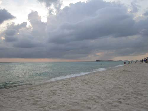 evening at the panama city beach by Dreamcious , on Flickr