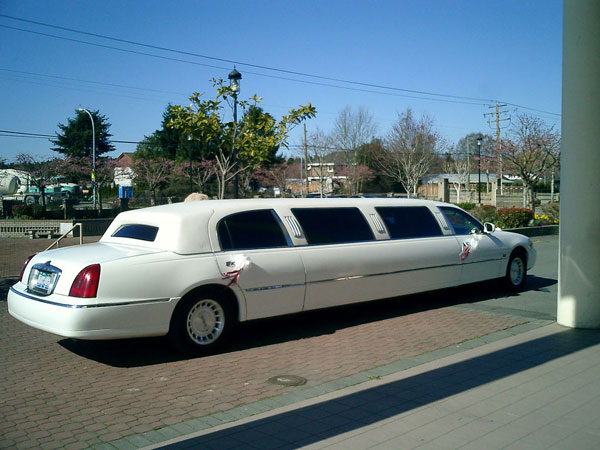 limo for wedding by Bjørn Bulthuis, on Flickr