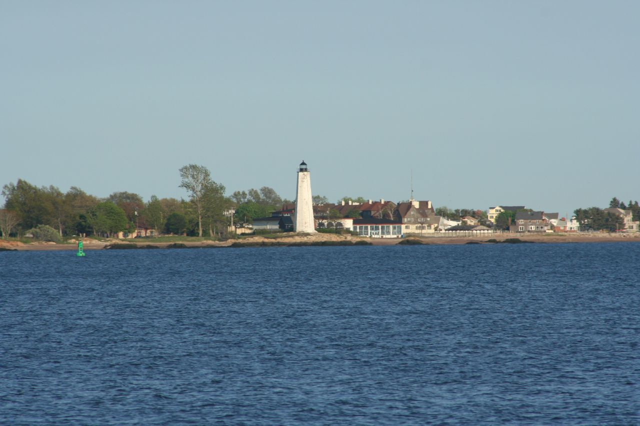 New Haven Harbor lighthouse by dwrichards , on Flickr