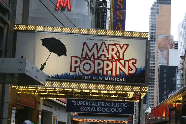 New York - Mary Poppins by PeterJBellis , on Flickr