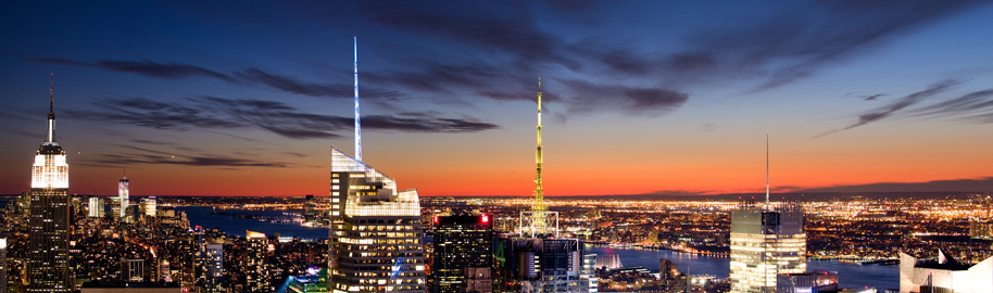 New York Sunset Panorama by ShotHotspot.com, on Flickr