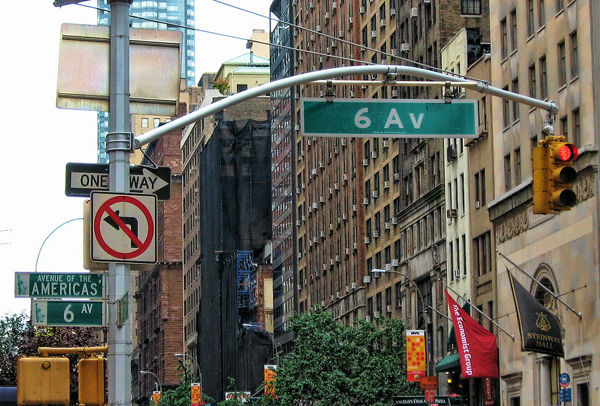 NYC Street Signs by brianac37 , on Flickr
