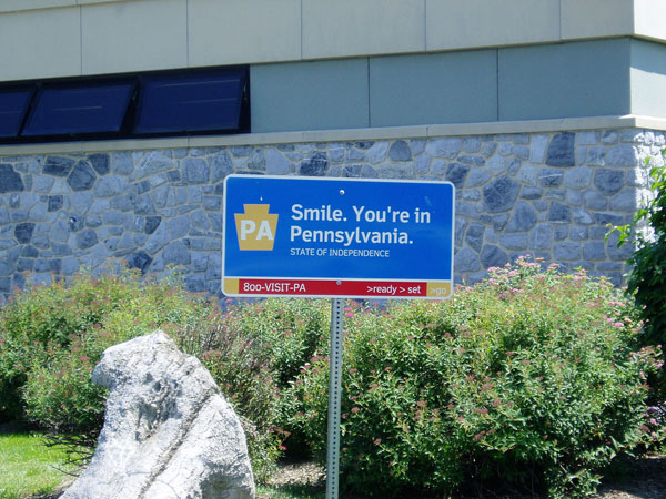Pennsylvania Welcomes Me with a Smile! by Joelk75, on Flickr
