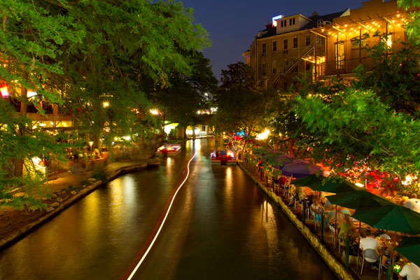 San Antonio Riverwalk Evening by StuSeeger, on Flickr
