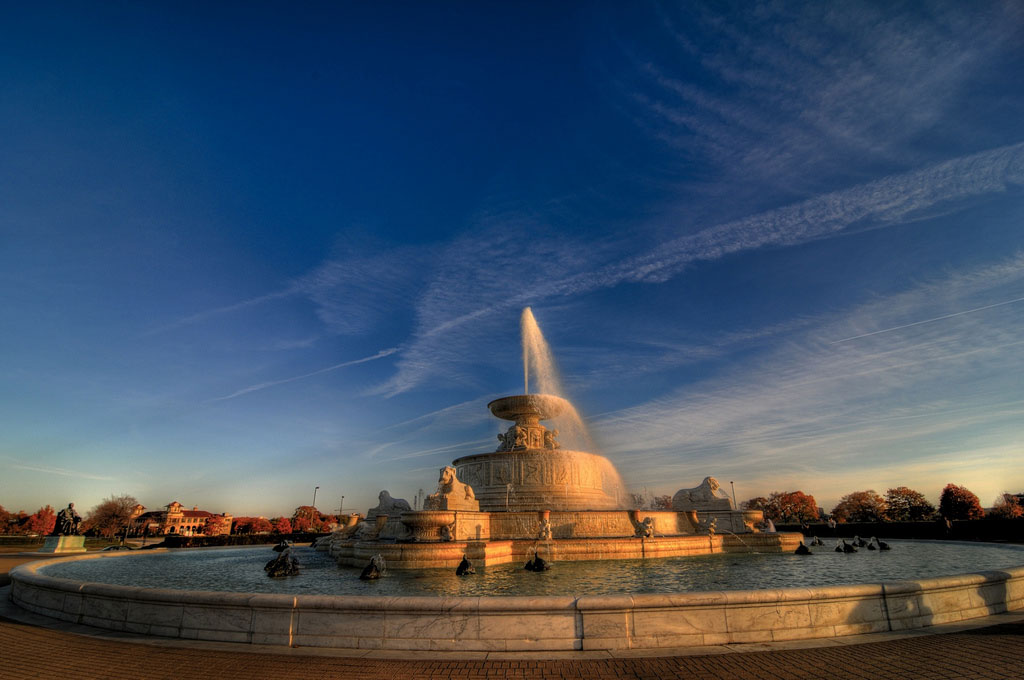Scott Fountain, Belle Isle Park by pcfishhk , on Flickr