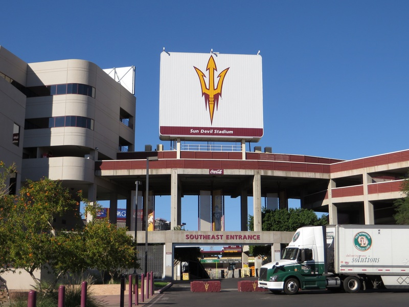 Sun Devil Stadium, Arizona State University, Tempe, Arizona by Ken Lund, on Flickr