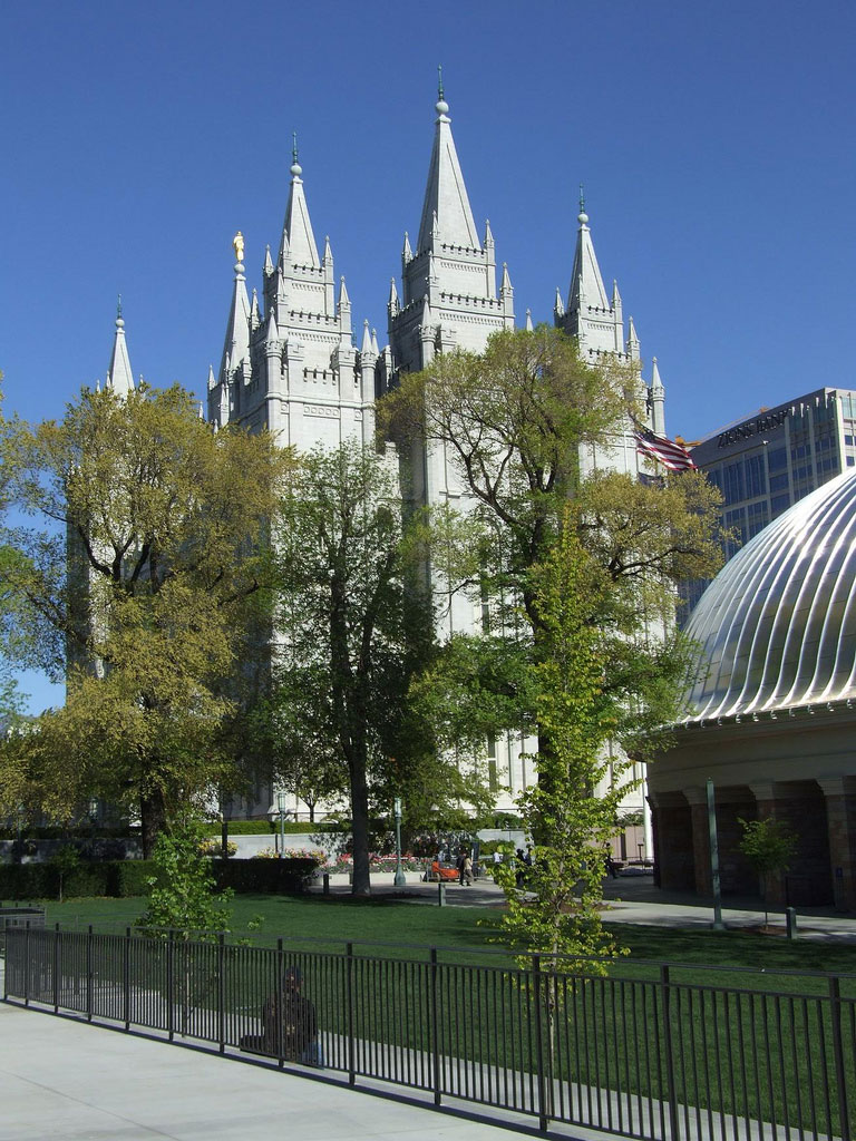 Temple Square, Salt Lake City: the Temple by pandrcutts, on Flickr