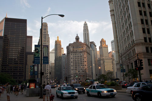 The Magnificent Mile by seafaringwoman , on Flickr