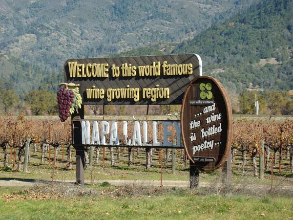 Welcome to Napa Sign by Rajiv Patel, on Flickr