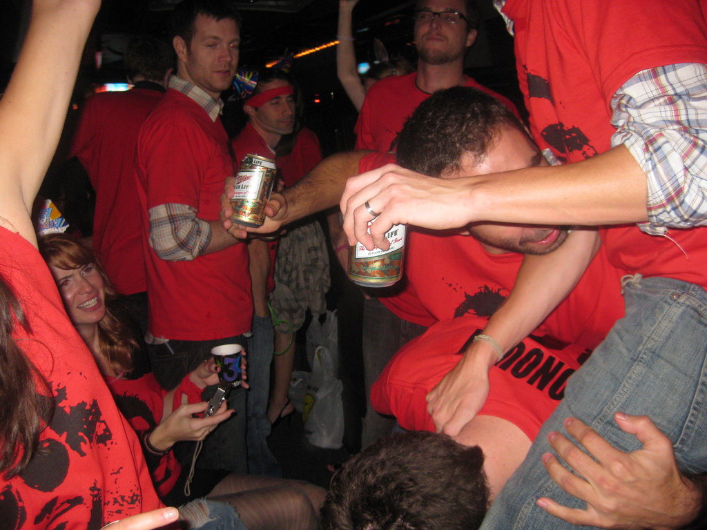 Will McD's 30th Bday = PARTY BUS!!! by dennis crowley, on Flickr